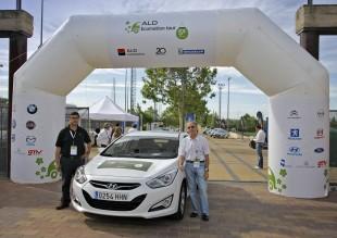 Un Hyundai i40 demuestra que una conducción eficiente reduce hasta un 15% el consumo de combustible en la V Edición del ALD Ecomotion Tour
